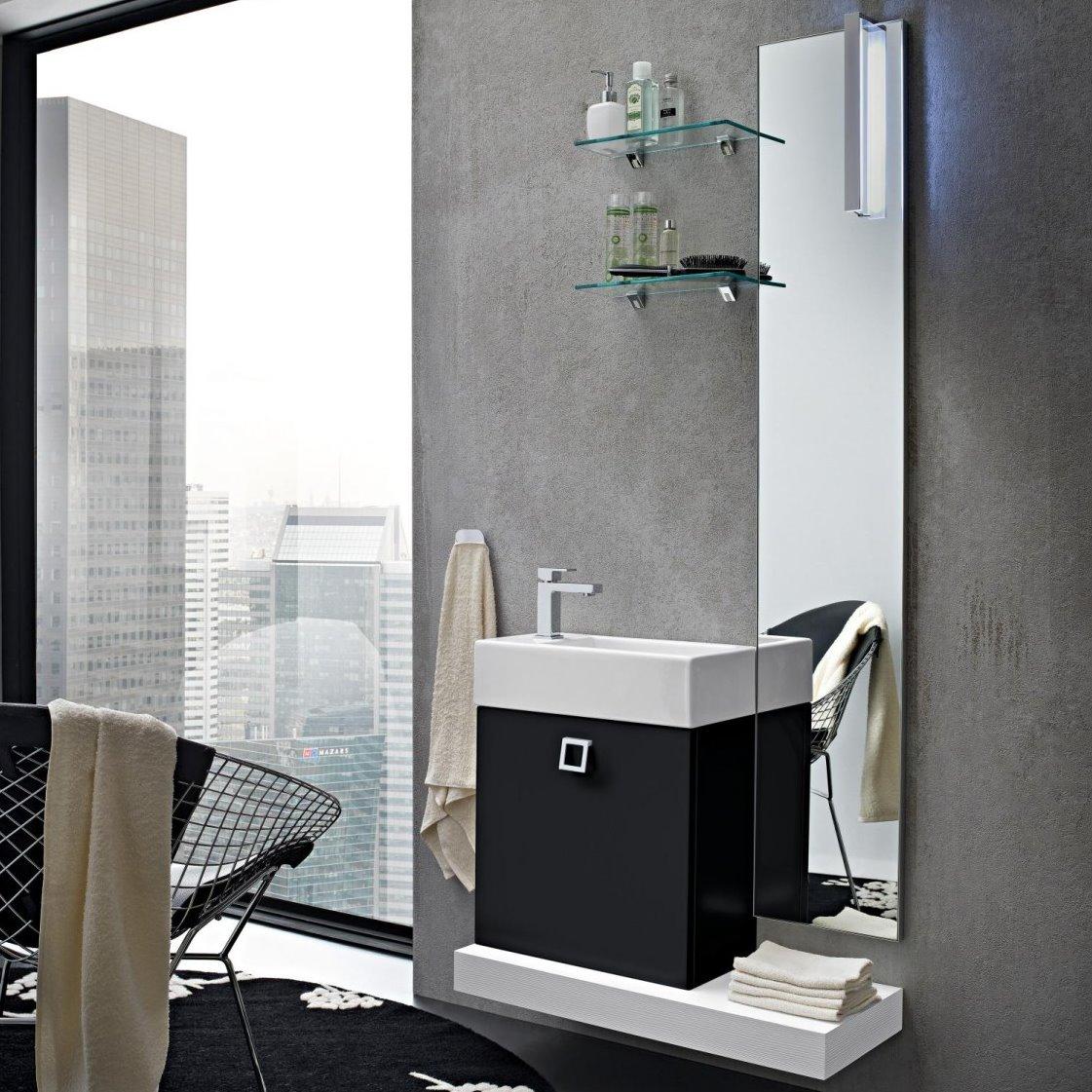 Idee bagno piccolo 6 idee per scegliere il mobile bagno for Piccoli mobili design