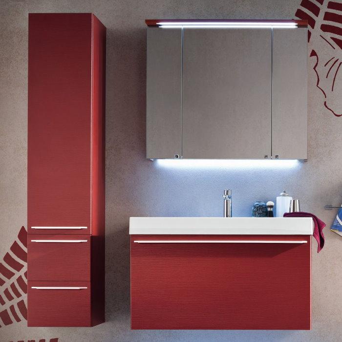 Idee mobile bagno con colonna minimo ingombro massima funzionalit arredaclick - Spiata nel bagno ...