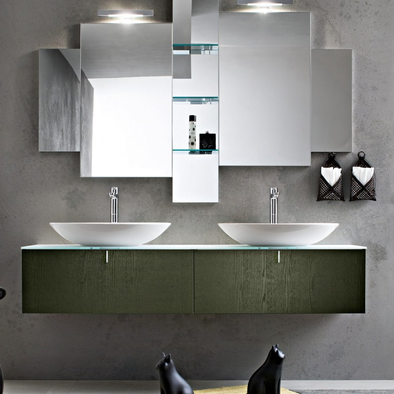 Mobile Bagno Lavandino Incasso idee - un bagno per due: mobile con doppio lavabo - diotti