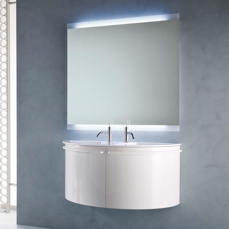 arredaclick blog - un bagno per due: mobile con doppio lavabo ... - Lavandino Con Mobiletto Per Bagno