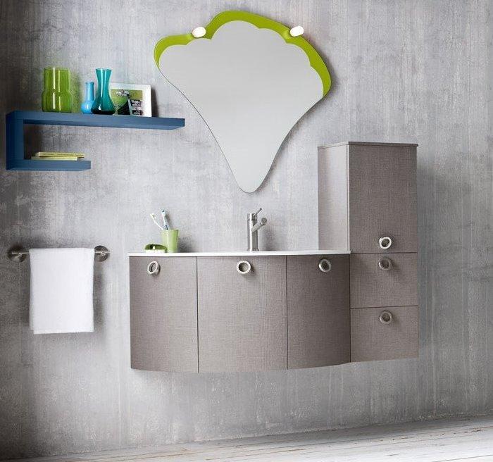 Idee mobile bagno con colonna minimo ingombro massima - Mobile colonna per bagno ...