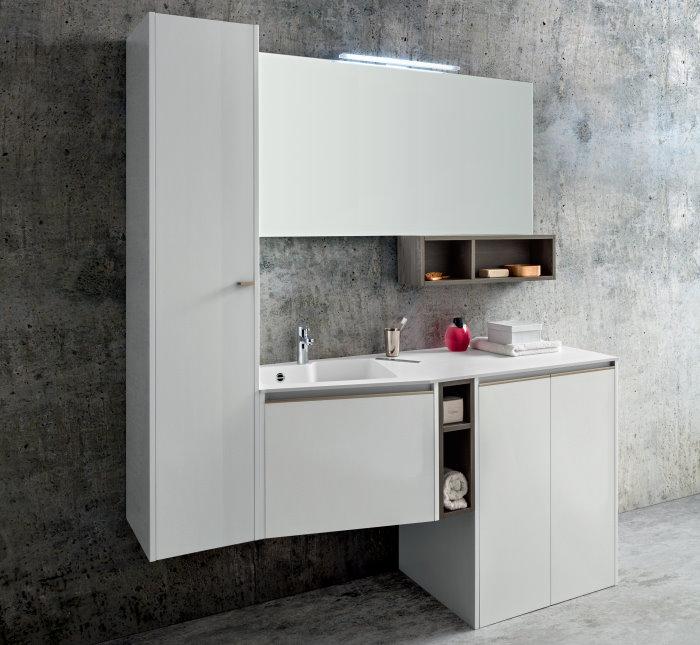 Idee la lavatrice in bagno 3 soluzioni definitive 1 - Lavatrice in bagno soluzioni ...
