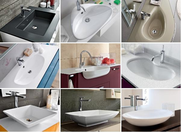 Idee come scegliere il lavabo per il mobile bagno arredaclick - Tipi di bagno ...