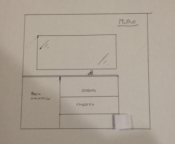 Idee un mobile bagno con porta lavatrice in meno di 2 metri arredaclick - Mobile bagno misure ...