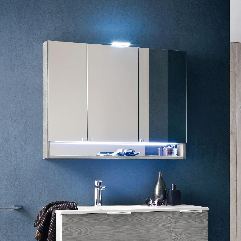 Idee mobile bagno 70 cm compatto e funzionale arredaclick - Specchi bagno con contenitore ...