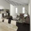 I nostri progetti: un soggiorno mansardato di 40 mq