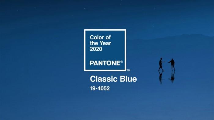 Classic Blue nell'immagine di Pantone