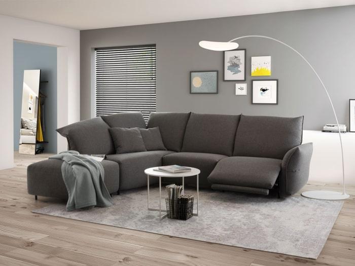Newark, divano scelto per arredare il soggiorno