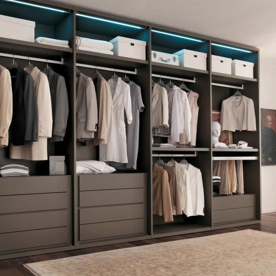 Arredaclick for Cabina armadio dietro il letto