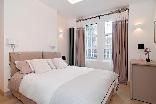 Arredaclick blog progetto a londra kensington arredare - Camera da letto bianca colore pareti ...