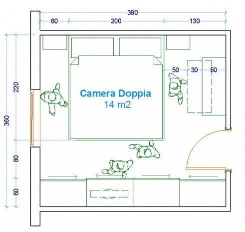 Misure Standard Camera Letto Matrimoniale.Idee Letto Matrimoniale Misure E Stili Diotti Com