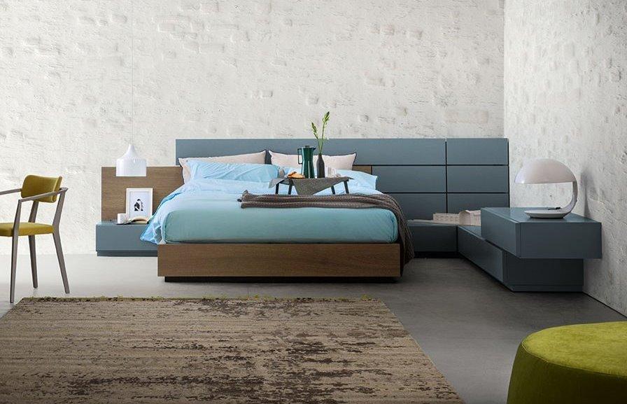 Arredaclick blog testiera boiserie per un letto su misura arredaclick - Testiera letto a muro ...