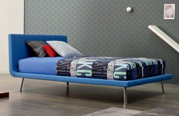 Lunghezza letto singolo lunghezza letto singolo letti piazza e mezza cityline dimensioni idee - Struttura letto singolo ...