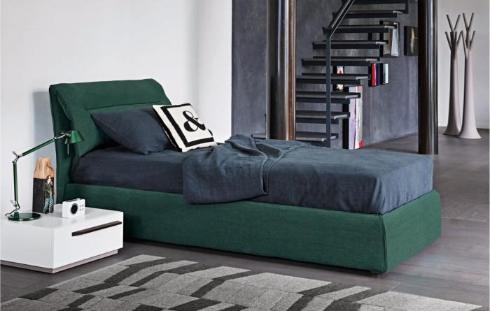 Camera da letto ragazzo laccata opaco design casa for Camera letto e studio