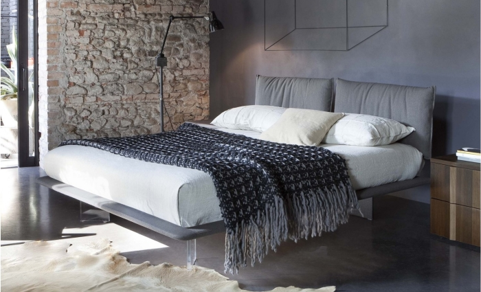 Idee letti sospesi illusioni ottiche in camera da letto arredaclick - Cos e un letto sommier ...