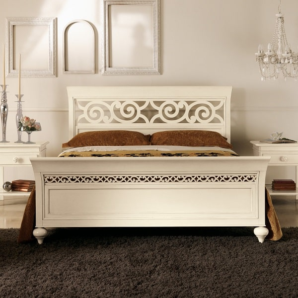 Letto in stile country chic Selene