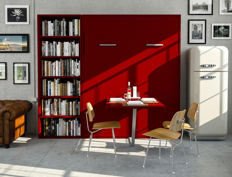 Idee soggiorno trasformabile in camera quali arredi for Arredi per pareti