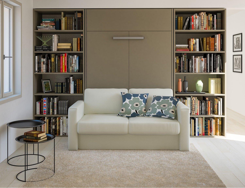 Idee soggiorno trasformabile in camera quali arredi for Divano letto trasformabile