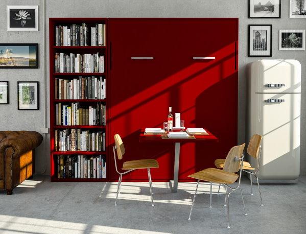 Idee arredare il monolocale come scegliere il letto arredaclick - Letto parete ribaltabile ...