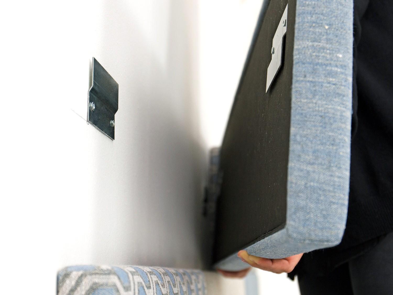 Pannelli Decorativi Per Camerette idee - testiera boiserie, per un letto su misura - diotti