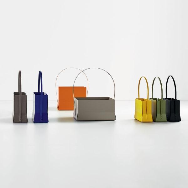 Portariviste colorati per il salotto Magazine Bag