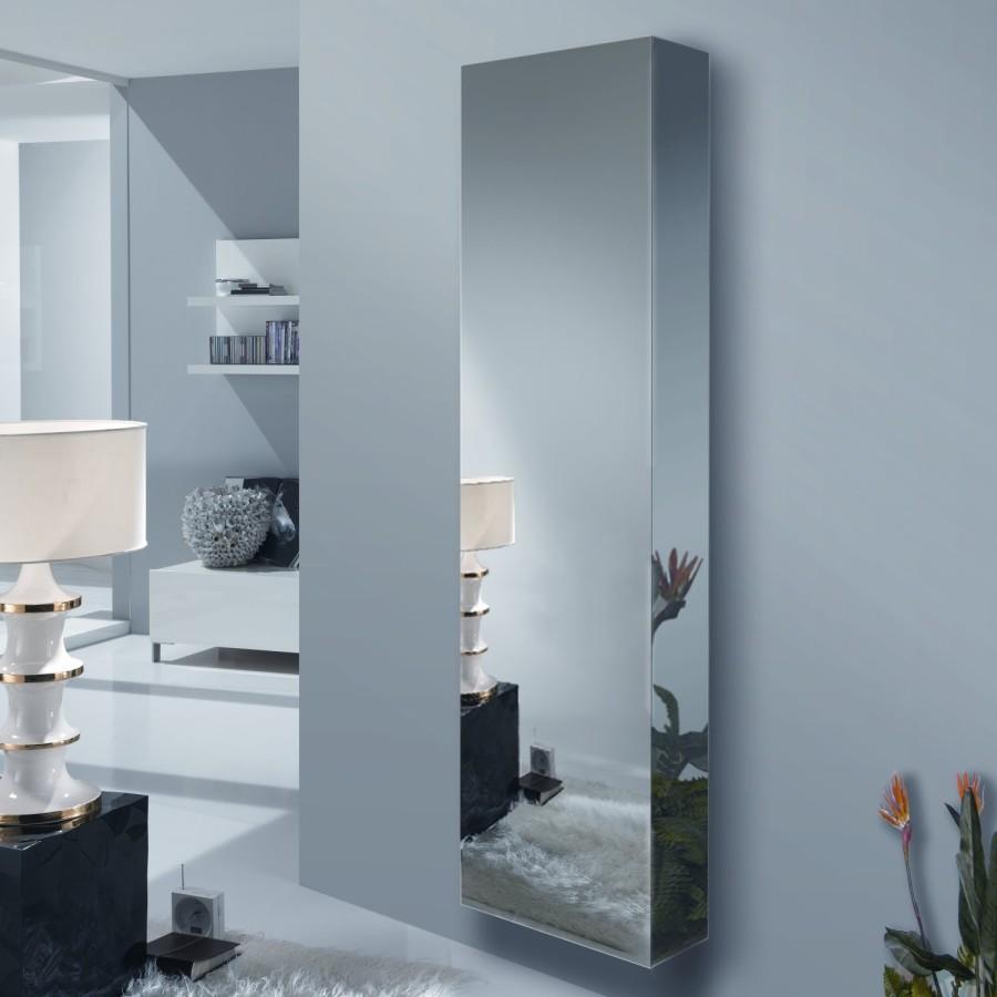 Idee come arredare un corridoio stretto e poco illuminato arredaclick - Appendiabiti con specchio da parete ...