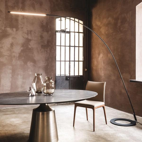Lampada ad arco moderna Lampo