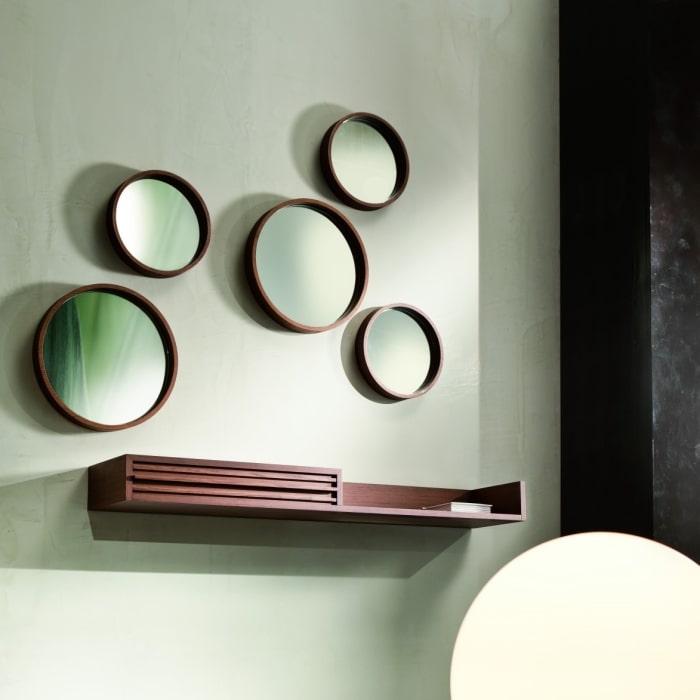 Composizione con mensola e specchi rotondi - Regolo, Hopes