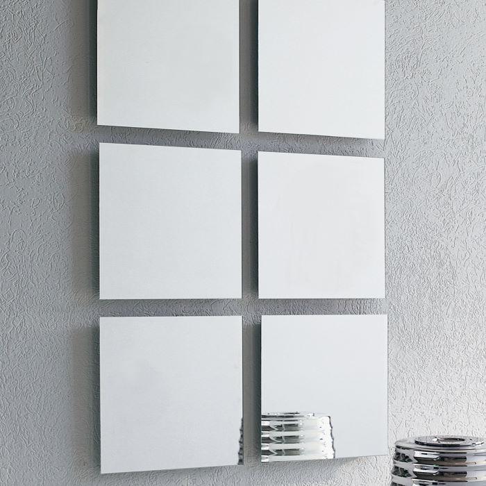Set di specchi quadrati