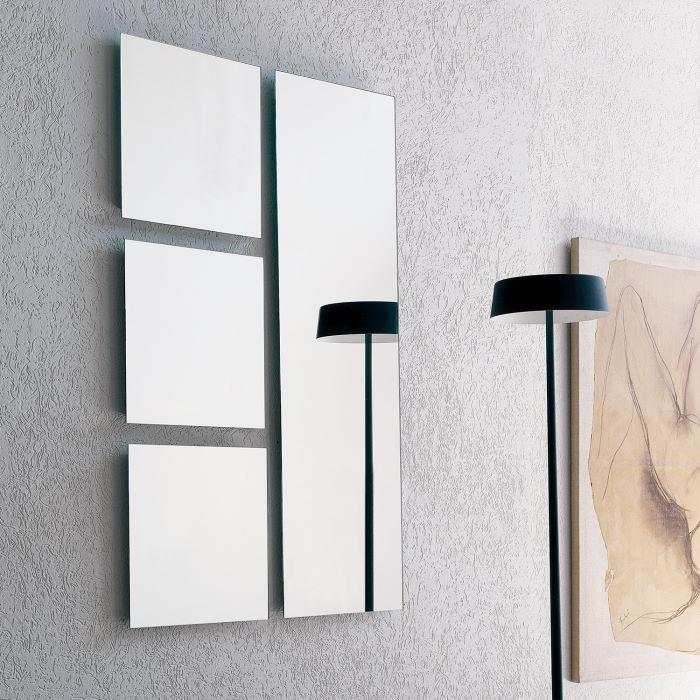 Set di specchi senza cornice