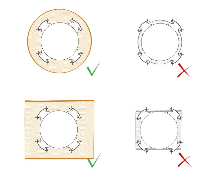 Tappeto Per Sala Da Pranzo Idee Per Il Design Della Casa
