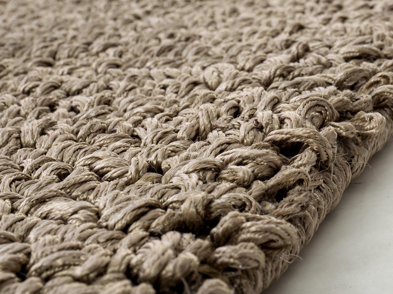 Idee tappeto bouclè: occhielli e nodi in rilievo arredaclick