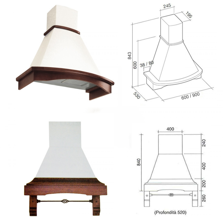 Idee il progetto di andrea mobili per la cucina in muratura arredaclick - Cappa cucina in muratura ...