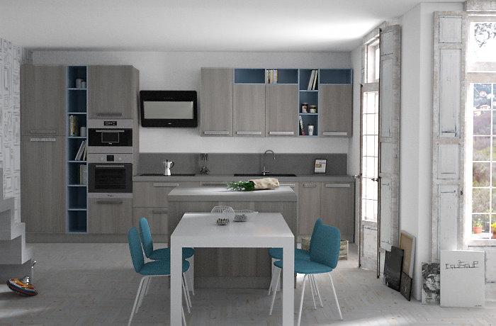 Cucine a basso prezzo idee di design per la casa for Cucine componibili a basso prezzo