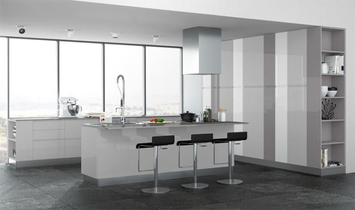 ARREDACLICK BLOG - Come pulire una cucina laccata lucida - ARREDACLICK