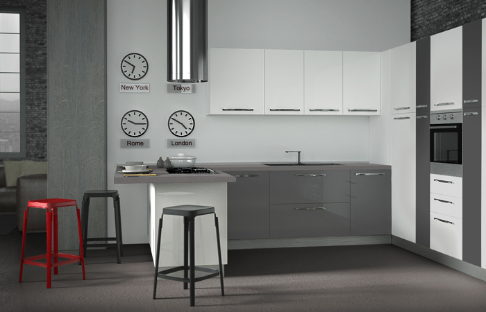 Arredaclick blog come pulire una cucina laccata lucida - Ikea penisola cucina ...
