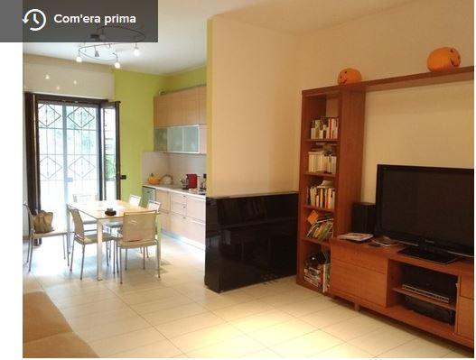 Idee - Il progetto: un'idea per dividere cucina e sala da ...