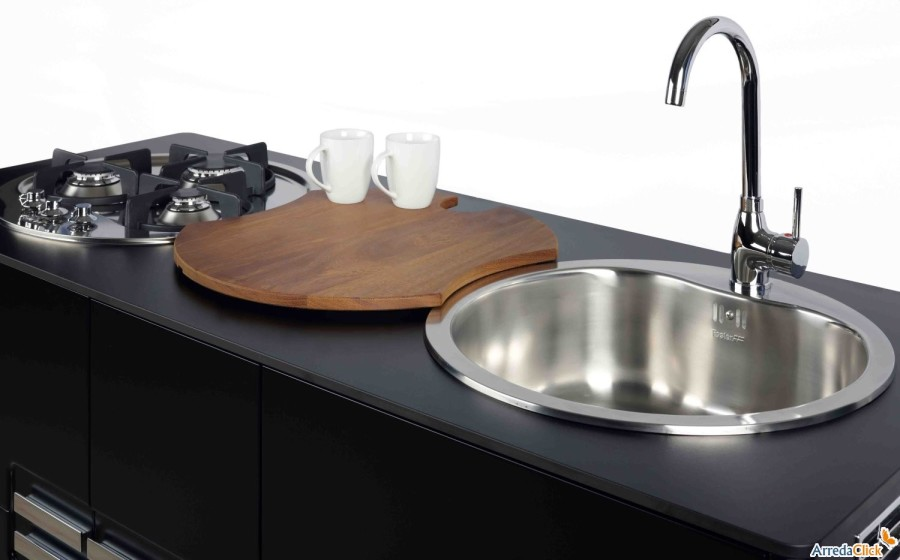 Idee - Una mini cucina per arredare una piccola casa ...