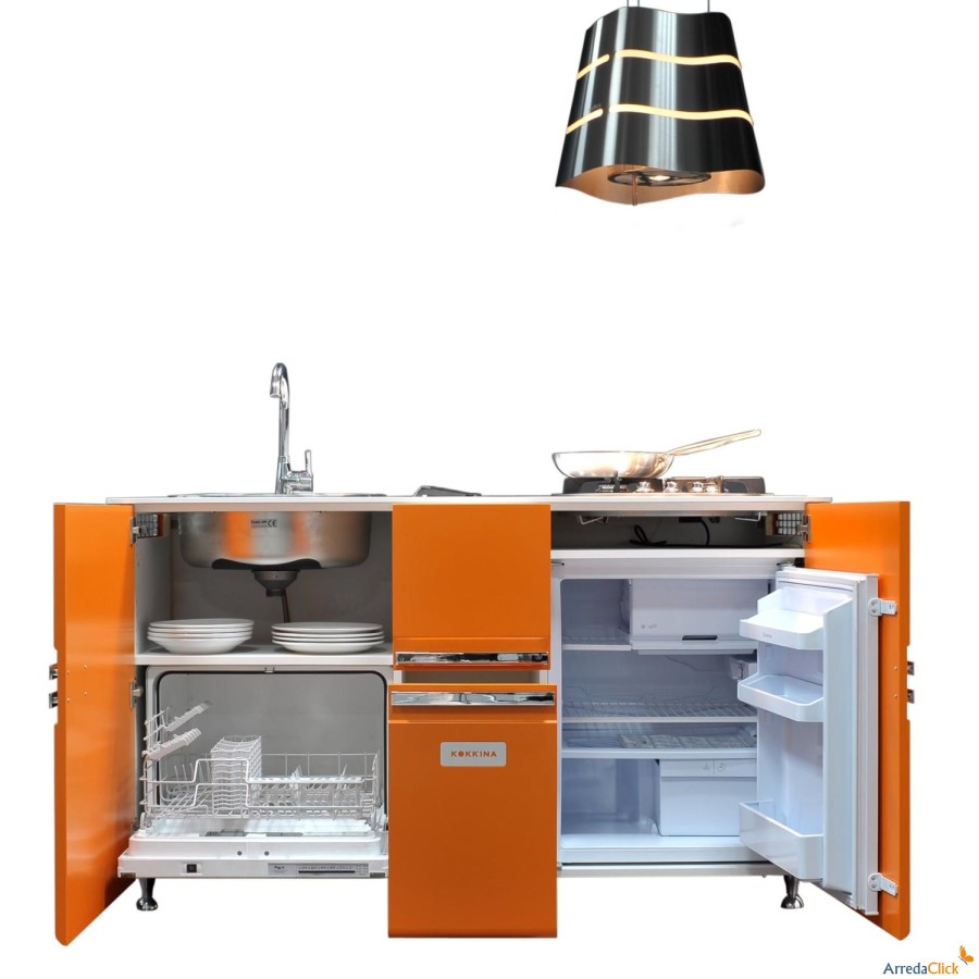 Idee una mini cucina per arredare una piccola casa - Mini cucina mondo convenienza ...
