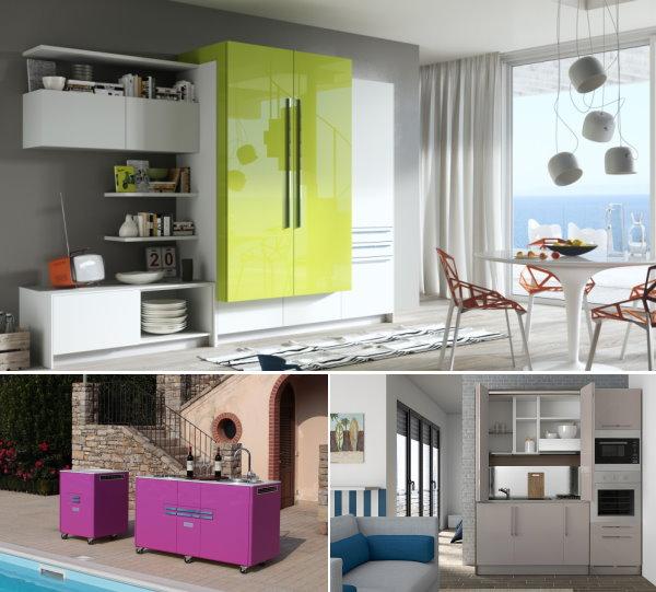 Arredaclick blog una mini cucina per arredare una piccola casa arredaclick - Cucine per miniappartamenti ...