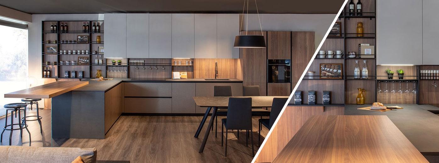 Cucine su misura personalizzabili Kitchen Lab