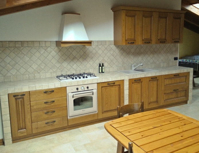 Arredaclick blog il progetto di andrea mobili per la cucina in muratura arredaclick - Sportelli cucina muratura ...