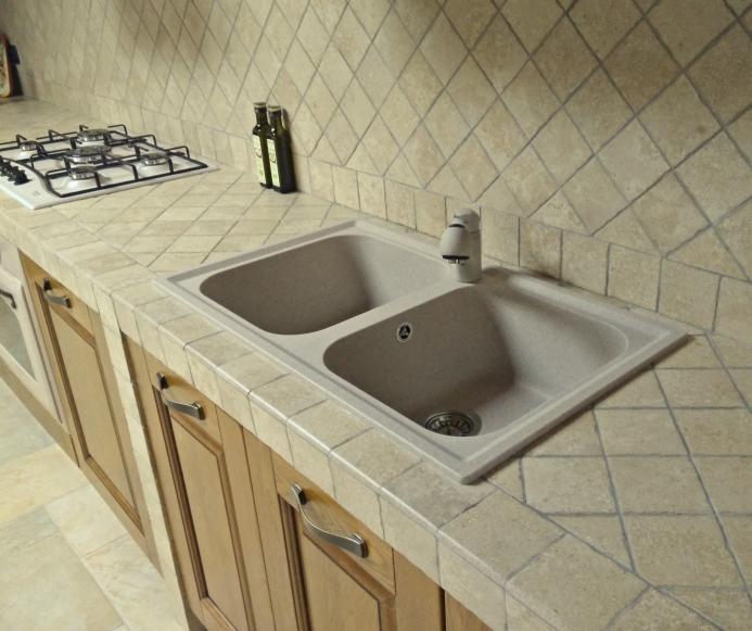 Idee - Il progetto di Andrea: mobili per la cucina in muratura ...