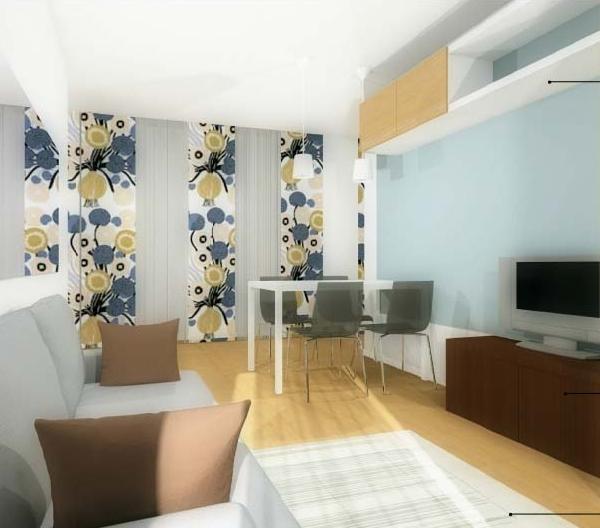 arredaclick blog - il progetto di matteo: soggiorno stretto e ... - Soggiorno Living Con Cucina A Vista 2