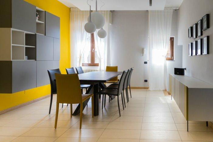 Credenza Camera Da Pranzo : Idee il progetto: unidea per dividere cucina e sala da pranzo
