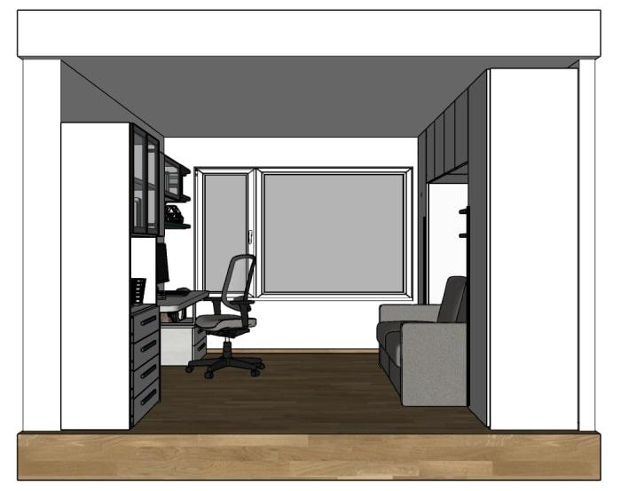 Organizzazione dello spazio nella stanza