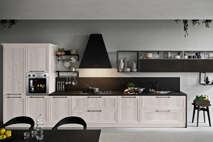 Collezione Sixty: esempio di cucina componibile e personalizzabile