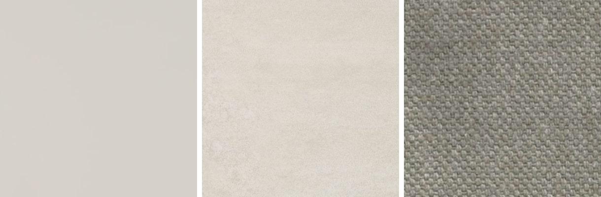 Uso del colore grigio, palette d'esempio