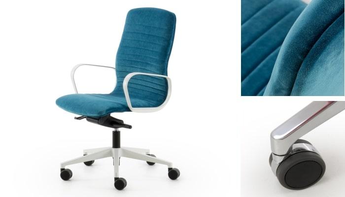 Sedia ergonomica da scrivania Mark