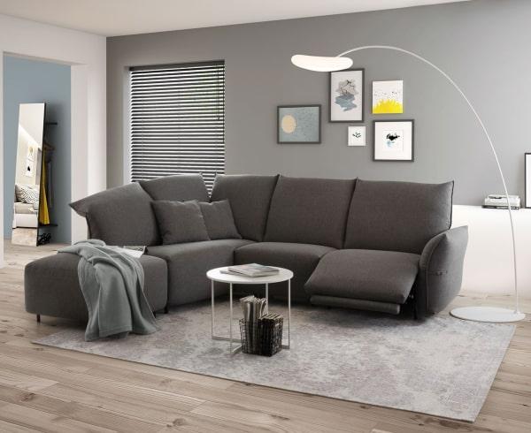 Salotto quadrato con divano Newark, collezione diotti.com